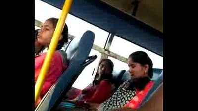 Indian dick flash in bus - 1 min 2 sec