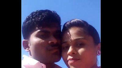 Desi Kannada couple outdoor - 50 sec