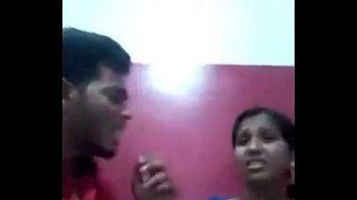 Desi Lovers Smooch & GFs Boobs Sucked in Juice Bar wid Audio - 6 min