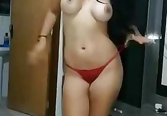Indian Babe Shows off