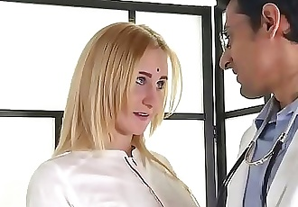 Needy wife seeks gratification from family doctor 7 min HD