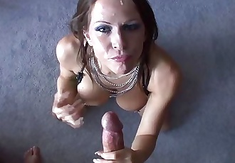 POV Blowjob with Beautifying Facial!