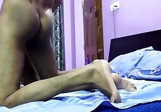 Desi college girl from Mumbai sex with here husband