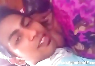 indian desi sexy young girl at home alone with boyfriend 3 min