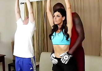 India Summer Nailed By Huge Black 30 min 720p