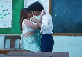 Indian Teacher Extra Class for Naughty Student
