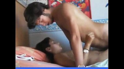 Indian girl Shanti fucked hard moaning - 10 min