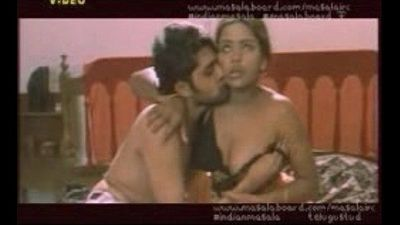 Mallu actress Bhavna in orange dress - 1 min 2 sec