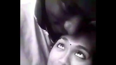lover kissing at park with Tamil audio - 2 min
