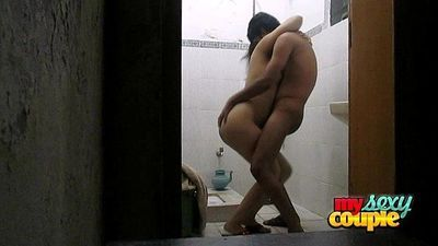 indian amateur wife sonia in shower sex with her husband sunny - 1 min 39 sec