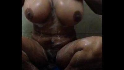 desi indian girl masturbating & bathing selfshoot - 50 sec