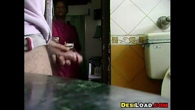 Maid Watching Me Mastubrate - 59 sec