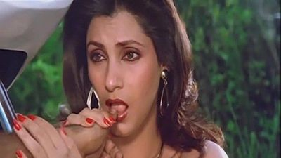 Sexy Indian Actress Dimple Kapadia Sucking Thumb lustfully Like Cock - 40 sec