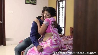 shashi Cute girl romance with Brother-in-law when Alone on the set II short film - 5 min