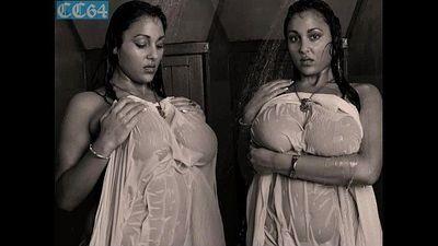 busty Urmila aunty displays her big boobs in shower - 8 min