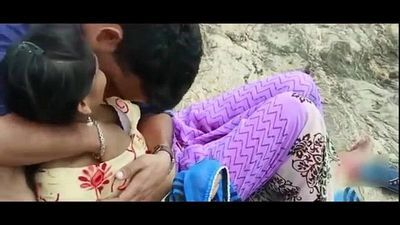 Desi Girl Romance With EX-Boyfriend in Outdoor - Hot Telugu Romantic Short Film 2017 - 6 min