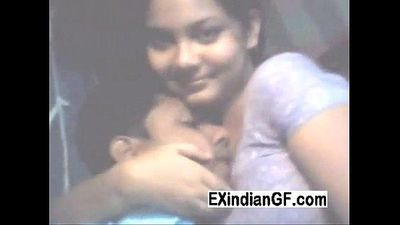 Desi couple tries new cam - 3 min