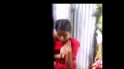 Desi village girl changing dres after shower - IndianHiddenCams.com - 1 min 10 sec