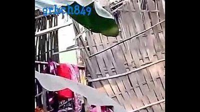 1102 desi village girl bath hidden cam - 1 min 32 sec