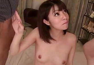 Akina Sakura superb threesome in hardcore scenes - 12 min