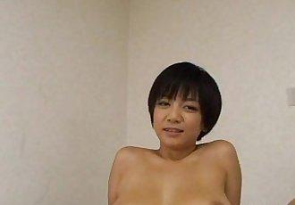 Shaved pussy Asian Meguru Kosaka nailing - 5 min