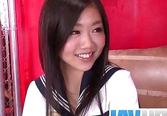 Akina Nakahara craves for this guyВґs dick in her - 9 min