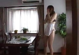 Spanking new wife for opening door naked - 5 min