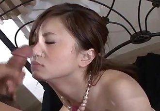 Rui Yazawa perky tits babe amazes with her cock sucking - 12 min