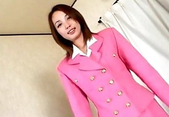 Midori Saejima in pink outfit is screwed - 38 min