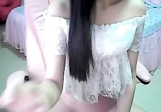 Sweet asian girl toyingr 01 - 14 min