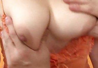 Big titty Mai Serizawa sucks on a hard schlong - 5 min