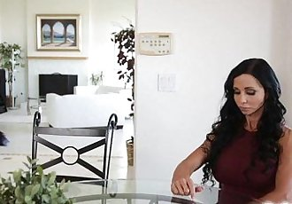 Jenna J Ross fucks herself in the ass and rubs her clit