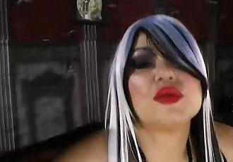 Busty BBW Samantha 38G Dresses as Ghoul and Fucks Superhero - 2 min