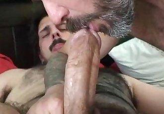 Horny bears fucking