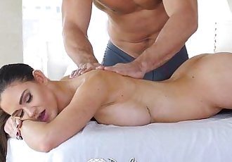 PureMaturePerfect 10 babe Kendall Karson is fucked on the massage tableHD