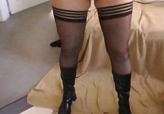Amateur Blonde milf anal creampie
