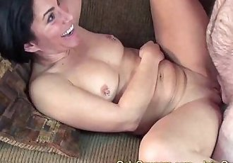 Amateur MILF In Fishnet Top & Little Skirt Gets Fucks From BehindHD