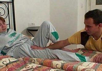 Injured grandma gets healed by dick - 6 min