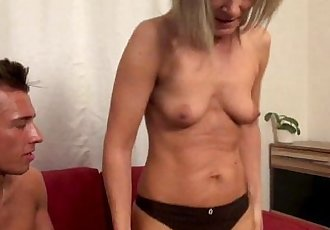 Hot blowjob by my stepmom!HD