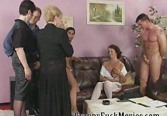 Mature sluts fucking younger studs - 5 min