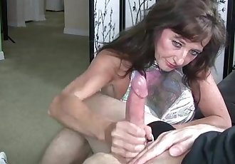 This Naughty Granny Enjoys Stroking - 2 min HD