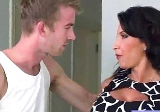 Naughty Housewife With Round Big Boobs Love Sex mov-21