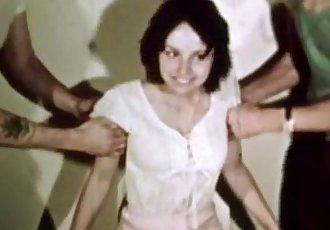 Vintage Erotica 1970s - Hairy Pussy Girl Has Sex - Happy Fuckday - 7 min