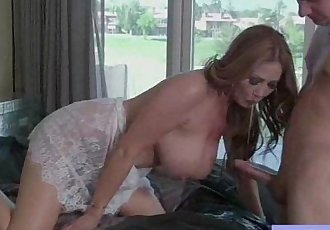 Hard Action Sex Tape With Superb Big Tits Housewife vid-20