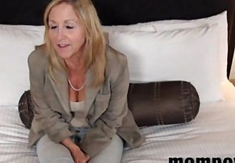 big tit blonde milf fucking a young cock - 5 min