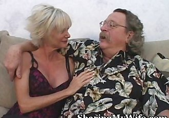 Mature Beauty Offered By Open-Minded Hubby - 5 min