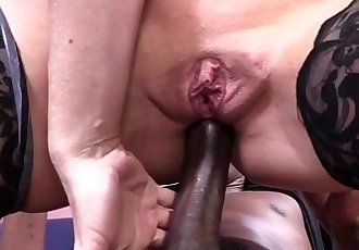 Simone Sonay Abuses Her Power To Get Some Black DickHD