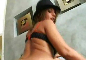 Hot Latina in Tophat