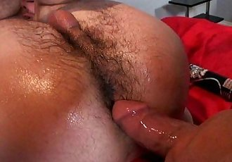 Oily Anal Drill on MassagecocksHD