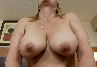 MILF POV granny sucks cock - 6 min HD